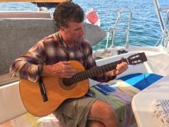 AJ onboard da boat in Loreto