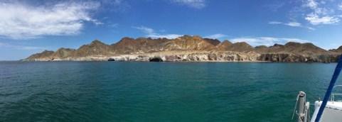 Isla San Marcos - Caleta de los Arcos