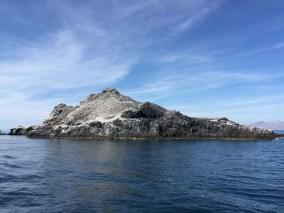 Departing Isla Partida