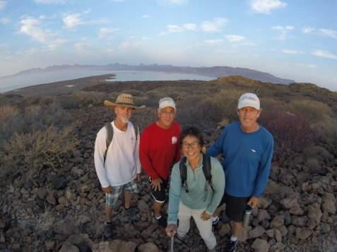 Hike on Coronados with Kurt and John