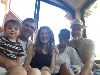 A visit with Kes, AJ, and Kim in Loreto - yay!