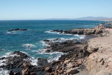 The rugged Asunción coast