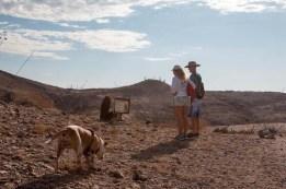 Interpretation on our La Ventana hike