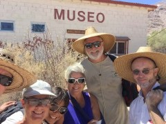 BLA museum with Annie, Laurie, Dave, and Tom