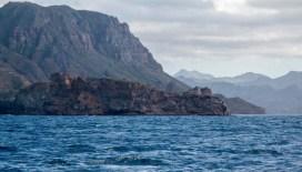 The light on Isla Danzante