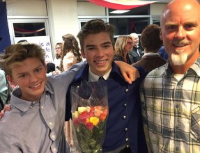 Proud little brother and uncle