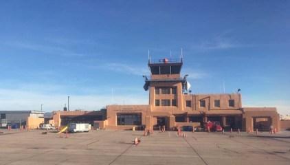 The Santa Fe Municipal Airport - teeny tiny