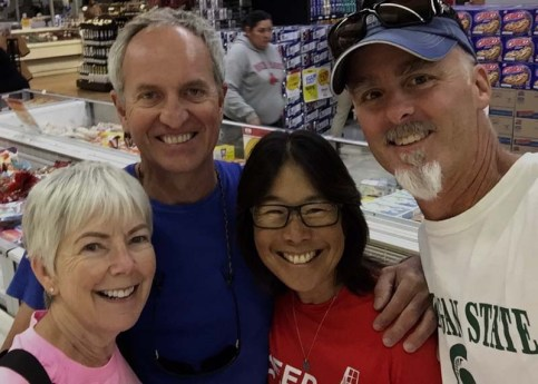 Reunited with Gwen and Jim of Sea Esta