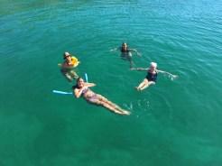 Kristin, Molly, Brenda and Gwen enjoying the H2O