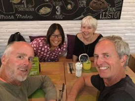 Dinner with Gwen and Jim at Dulce Romero