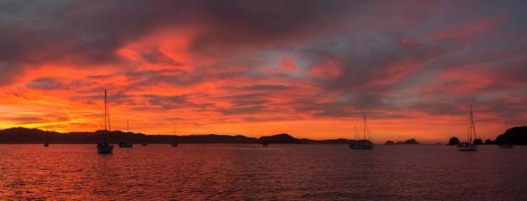 Sunrise over Tenacatita