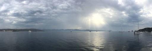 Storm breaking over Tenacatita