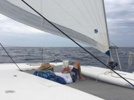 Resting en route to Barra