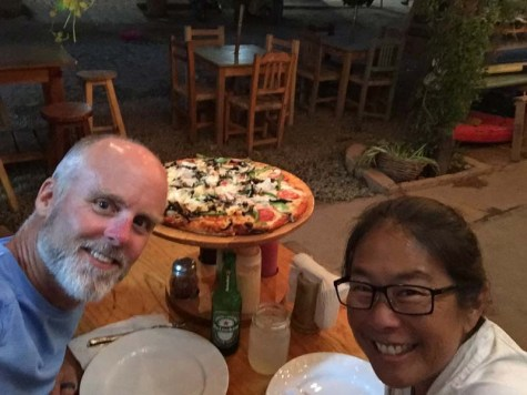 Surfer's Pizza in Chacala
