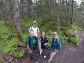 Selfie on the Winner Creek trail
