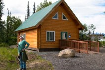 The Denali Cabin in Denali State Park - home for a few days