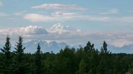 A massive mountain