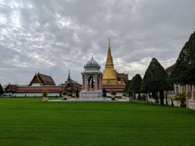 A glimpse of the Grand Palace grounds