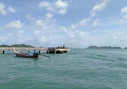 "Entering the ""harbor"" on Koh Yao Yai"