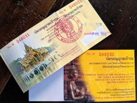Tickets to the Grand Palace