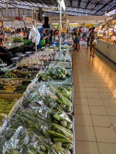 The daytime market