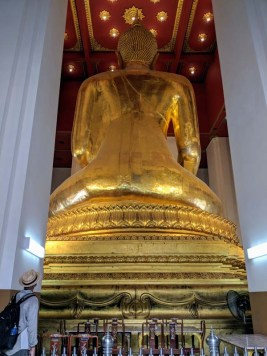 Big Buddha back