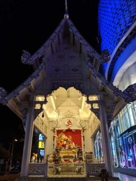 Ganesh outside the mall