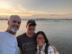 Hangin' with Greg of S/V Dogfish, missing Marga though