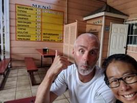 Visiting our favorite al pastor restaurant in Santa Rosalia