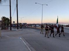 Parade de los niños in the BLA Village