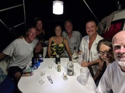 The birthday celebration crew