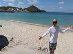 On the beach at San Carlos