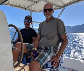 Fun with Dave of S/V Jean Butler