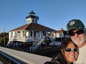 The historic lighthouse at the Gasparilla State Recreation Area