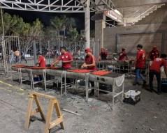 The concessions at Los Venados stadium