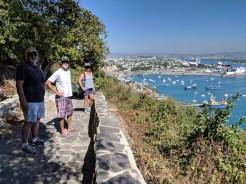 On the hike back down El Faro