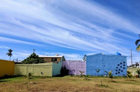 Wall art in Barra