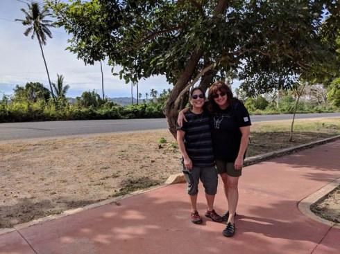 A stroll along the walking path in Barra
