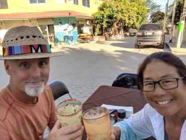 Happy hour at La Cruz Inn