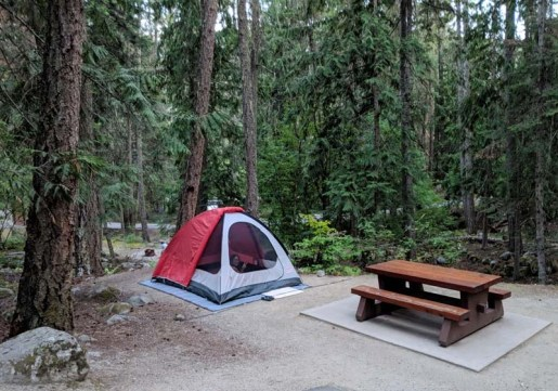 The tidiest campspot on earth