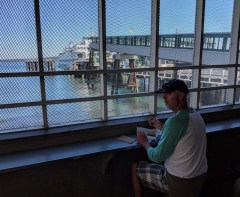 Waiting for the next ferry to Vancouver Island
