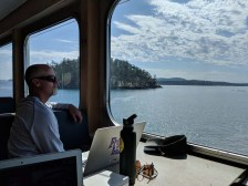 Ferry back to Anacortes