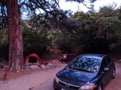 Last campsite of the epic road trip
