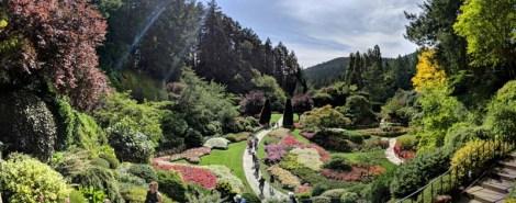 Amazingly, perfectly manicured grounds