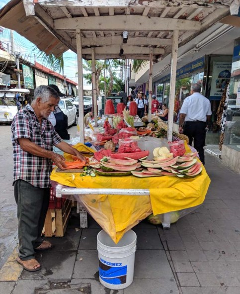 Colorful street food