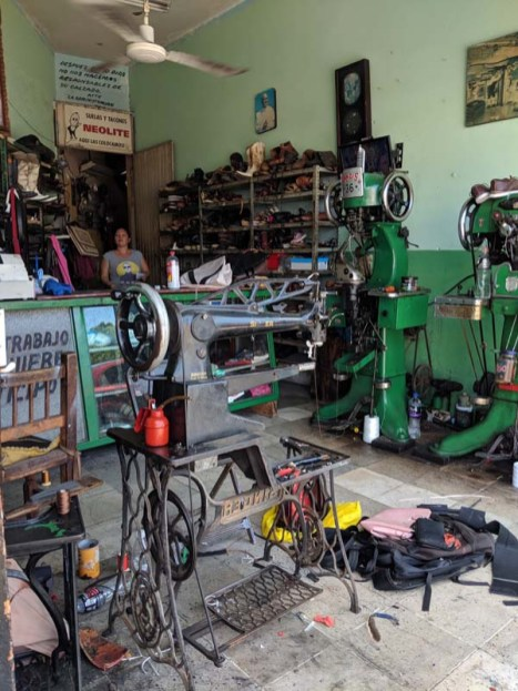 The local cobbler's shop