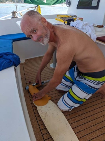 Fixing the rudder for CD to no avail