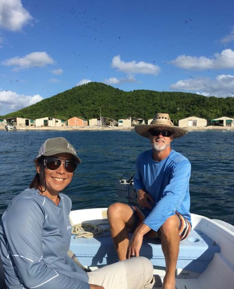 Dinghy ride back to FL (PC Deb)
