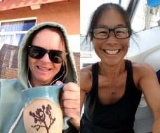 Morning coffee with Flea
