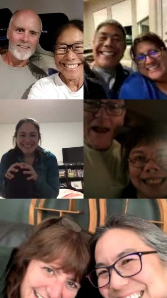 First of many family video chats
